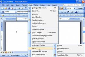 Macro Excel 2003