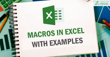 Macros in Excel with VBA code examples